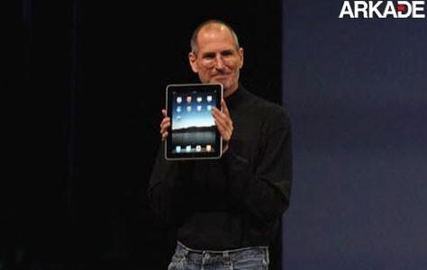 Lançado o tablet da Apple: o iPad