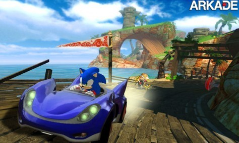 SEGA lança novo vídeo de Sonic & SEGA All-Stars Racing