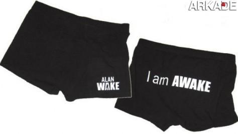 Compre cuecas do game Alan Wake na loja virtual do jogo
