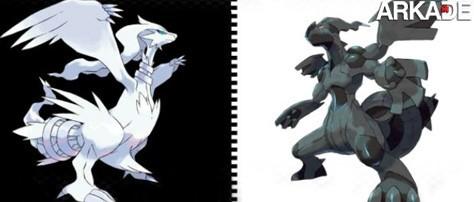 Lendários de Pokémon Black & White são revelados