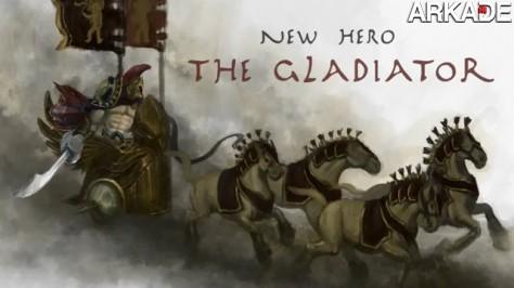 Novo herói de Heroes of Newerth, o Gladiador, é revelado