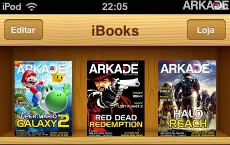 Veja a Revista Arkade rodando no iPod Touch!