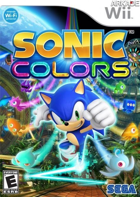 Sonic Colors ganha novo trailer e capa para Wii e DS