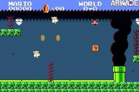 E se o vazamento de petróleo fosse em Mushroom Kingdom?