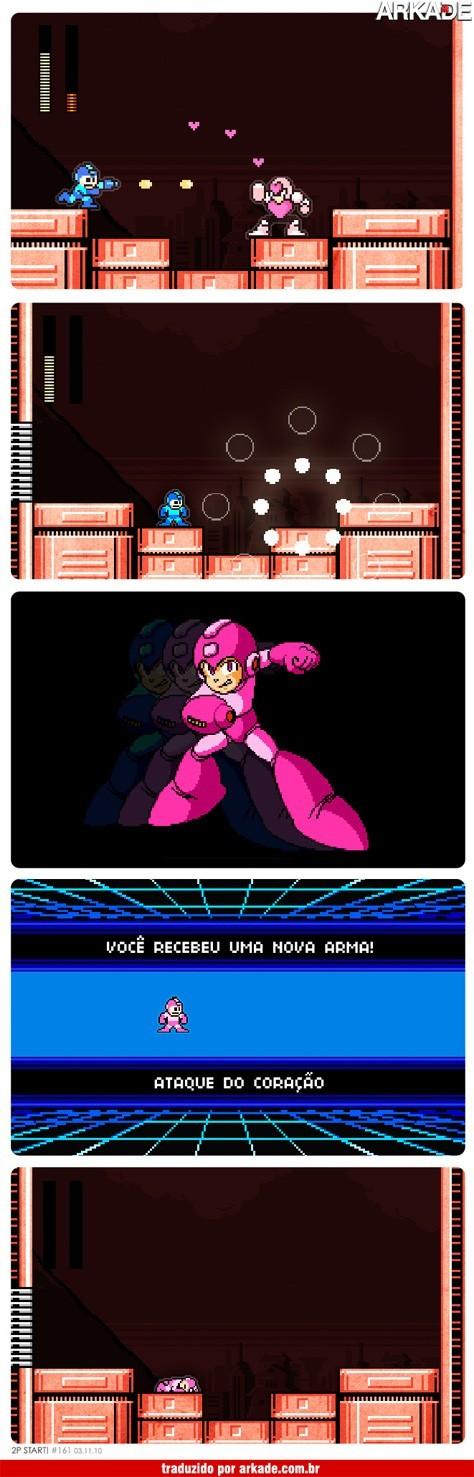 Tirinha: o novo e letal poder de Megaman