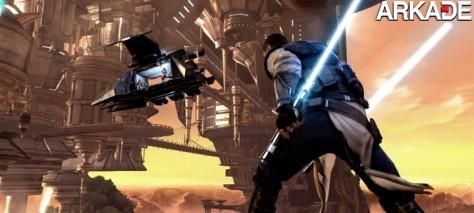 Star Wars: The Force Unleashed 2 é bonito, mas tem suas falhas