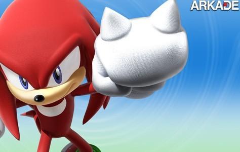 Personagem - A história de Knuckles, da série Sonic