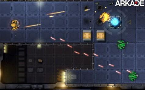 Jogos em Flash - Conserte uma nave espacial em Robokill