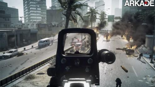 Battlefield 3: veja o primeiro trailer de gameplay do novo FPS
