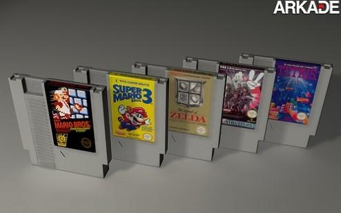 Transforme seu cartucho velho do NES em.. um NES!
