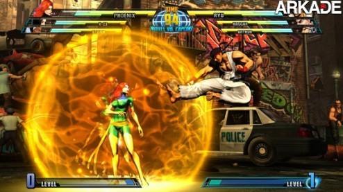noticias Marvel vs Capcom 3   Combos, mais combos e o infinito de Akuma