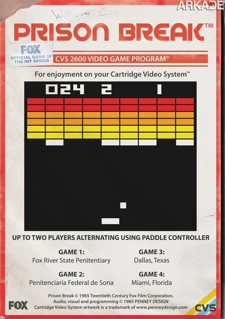 E se os grandes filmes atuais ganhassem games versão Atari?