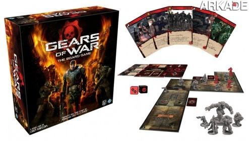 Gears of War de tabuleiro: um novo jeito de destruir Locusts