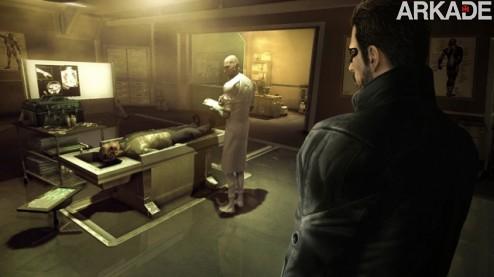Deus Ex Human Revolution: um misto de FPS, RPG e espionagem