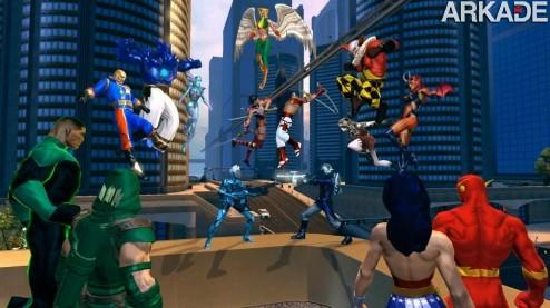 DC Universe Online: game passa a ser free-to-play em outubro para PS3 e PC