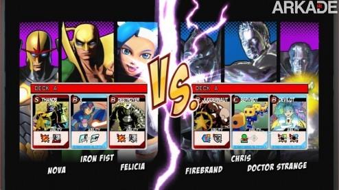 Ultimate Marvel Vs. Capcom 3 ganha trailers e novos modos de jogo