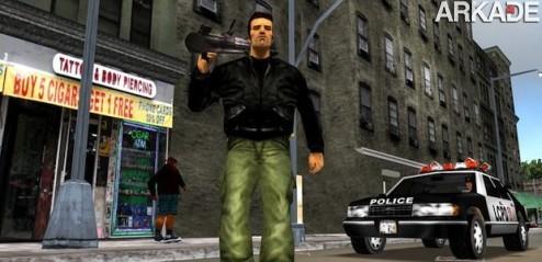 GTA III vai ganhar um belo remake portátil para celebrar seus 10 anos