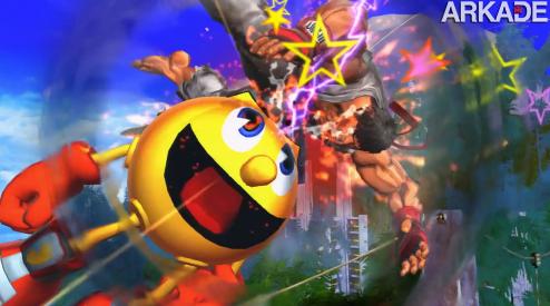 """Street Fighter X Tekken: trailer confirma Pac-Man e Mega Man """"retrô"""""""