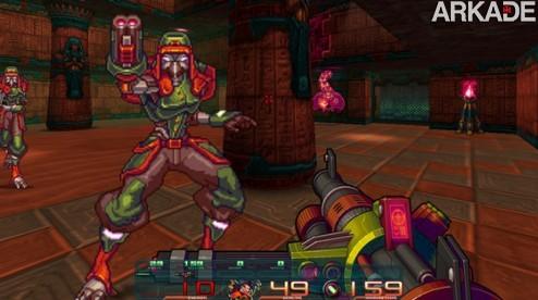 Retro Blazer: um FPS indie inspirado em clássicos como Doom