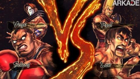 Street Fighter X Tekken: trailer confirma Vega, Balrog, Paul, Law e mais!