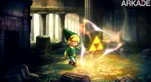 The Lost Oracle: um belo Zelda que (infelizmente) não é de verdade