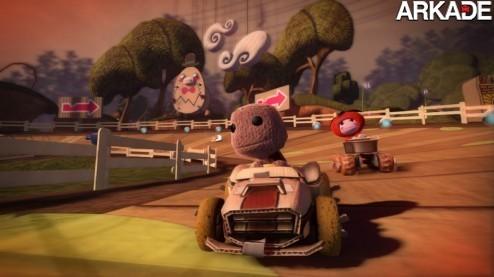 LittleBigPlanet vai ganhar jogo de kart, confira o trailer