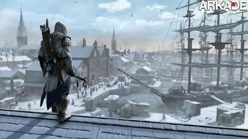 Assassin's Creed III ganha trailer e edições de colecionador