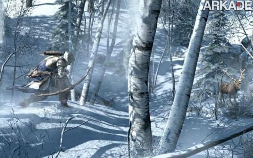 Assassin's Creed III: vazam muitas imagens e detalhes sobre o game!