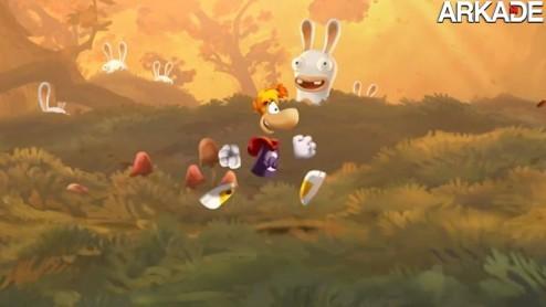 Rayman Legends: trailer mostra belo visual e recursos para Wii U
