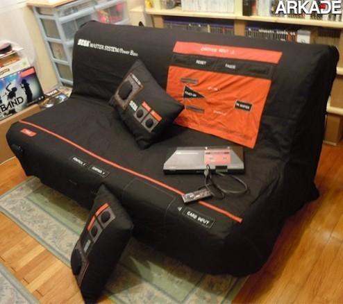 Da série #euquero: uma capa para sofá de Master System!