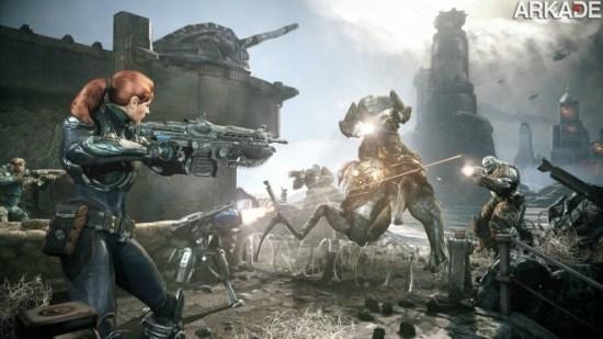 Novo trailer de Gears of War: Judgement apresenta as classes de personagens