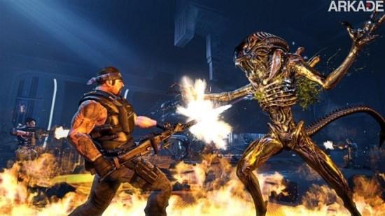 Aliens Colonial Marines: novo trailer apresenta intenso modo de jogo online