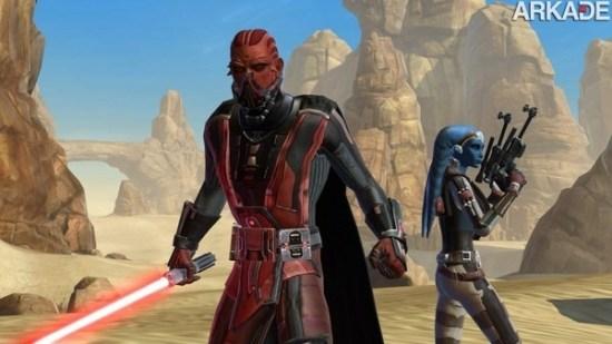 MMO Star Wars: The Old Republic poderá ser jogado de graça em breve