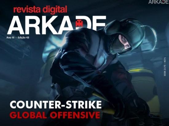 Revista Arkade #43 - Counter-Strike: Global Offensive