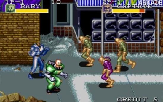Clássicos - Captain Commando: um beat 'em up com bebês, ninjas e múmias