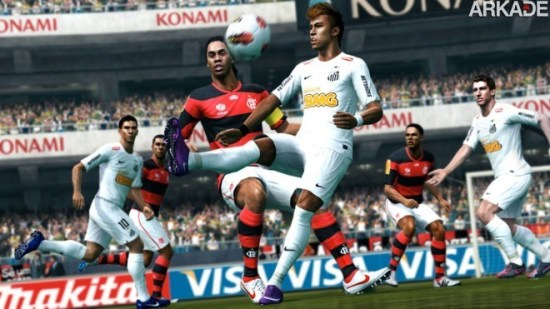 PES 2013: novo trailer apresenta os times brasileiros do game