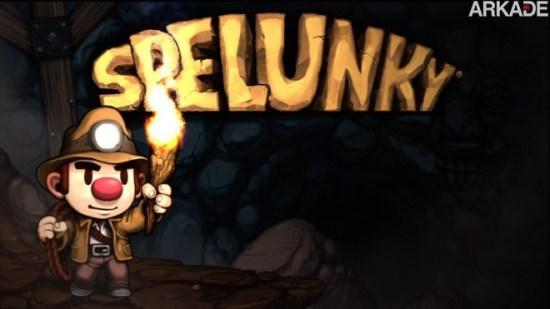 Jogue o divertido Spelunky em HTML5 diretamente pelo seu browser
