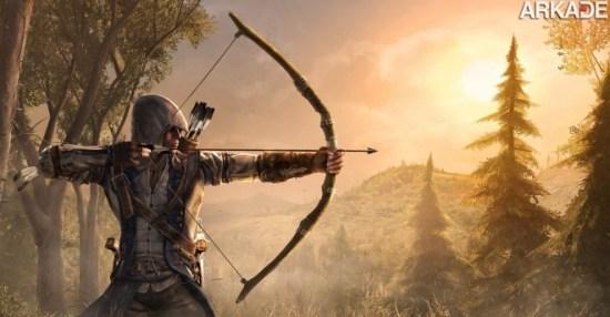 Assassin's Creed 3: novo trailer e novidades sobre o game
