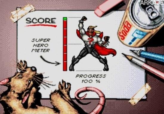 Clássicos - Comix Zone: uma aventura em quadrinhos de 16 bits