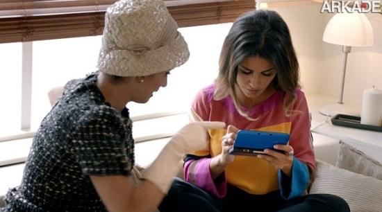 Penelope Cruz e sua irmã estrelam mais um trailer do Nintendo 3DS