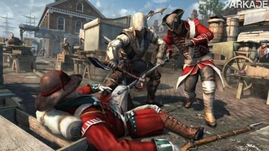 Muita matança em novo trailer de Assassin's Creed III