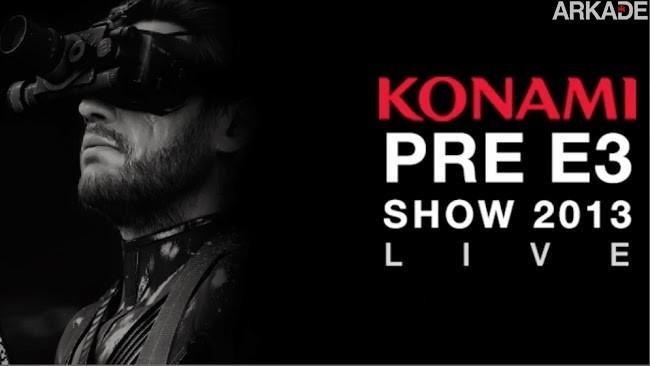 Konami Pré-E3: evento mostrou PES 2014, Metal Gear Solid V, Jack Bauer e Castlevania