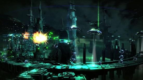 Resogun: Space shooter exclusivo para PS4 ganha novo trailer