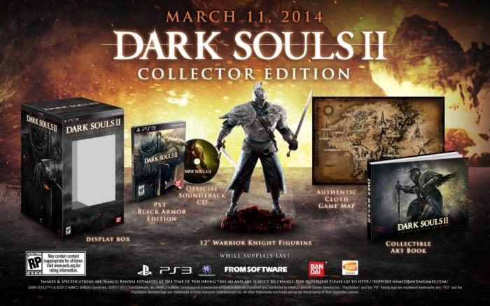 Dark Souls II ganha bela edição de colecionador e vídeo com cara de animação dos anos 80