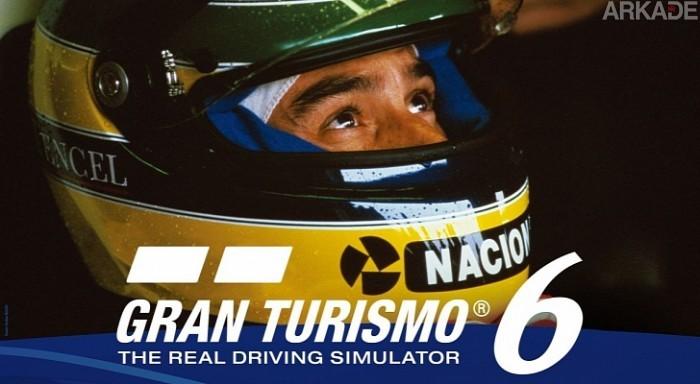 Ayrton Senna vai acelerar em Gran Turismo 6 a partir do dia 27 de maio