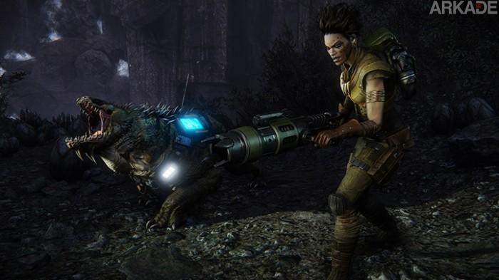 A caçada alienígena insana de Evolve já tem data para começar