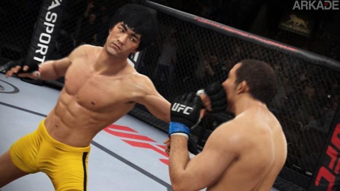 Bruce Lee mostra seus golpes em novo trailer de EA Sports UFC