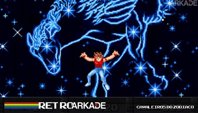 RetroArkade: Faça elevar o cosmo do seu coração com os jogos dos Cavaleiros do Zodíaco