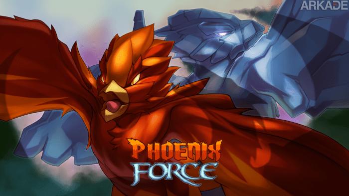 Análise Arkade: Phoenix Force, o shoot 'em up que traz de volta a dificuldade dos anos 80