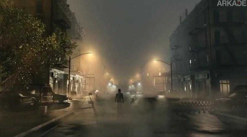 """Kojima quer que você """"suje as calças"""" de tanto medo jogando Silent Hills"""